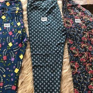 3 pairs tc leggings